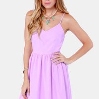Baking Beauty Lavender Dress