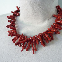 Nautical Coral Necklace