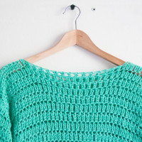 Crocheted sweater - MADE TO ORDER.