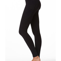 Mesh Pocket Skinny Workout Pants
