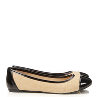Black Patent Flat Shoe
