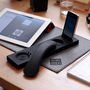 Native Union Curve Bluetooth Wireless Handset and iPhone Dock - High-Gloss Black
