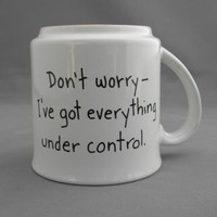 Dont Worry Sandra Boynton Coffee Mug by MugQuotes on Zibbet