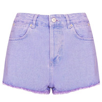 MOTO Lilac Raw Hem Hotpant - New In This Week - New In - Topshop USA