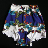 Butterfly Knicker shorts hot pants bikini bottoms