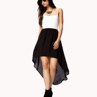 High-Low Combo Dress | FOREVER21 - 2042820377