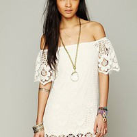 Free People Off The Shoulder Truth Dress