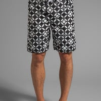 Howe Poolside Reversible Board Shorts in Black from REVOLVEclothing.com
