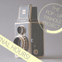 The Pop-Up Pinhole Project