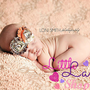Fancy Newborn Headband Couture Baby Headband by littlelambshop