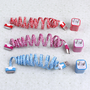 Total 6pcs/lot! USB Cable Cord1M &amp; USB Power Charger For Iphone 4/4s