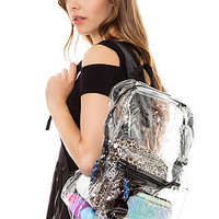 *Accessories Boutique Backpack Transparent