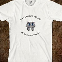 In Cats We Trust Funny Kitty Lover Shirt - PrecisionTees - Skreened T-shirts, Organic Shirts, Hoodies, Kids Tees, Baby One-Pieces and Tote Bags