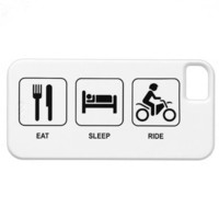 Eat Sleep Ride iPhone 5 Case from Zazzle.com