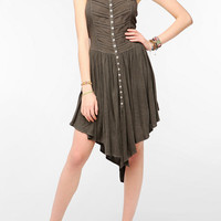 Ecote Knit Acid Rain Cross-Back Dress