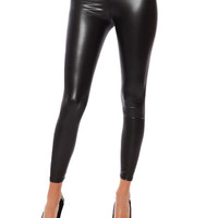 Papaya Clothing Online :: FAUX LEATHER LEGGINGS