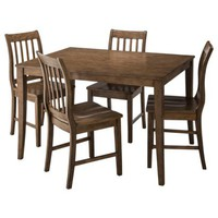 Winfield 5-pc Dining Set - Driftwood Finish