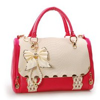 shego shopping mall — Nice Bowknot Red Handbag For Lady