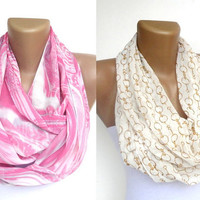 fashion 2 infinity scarf , eternity scarf, cowl scarf , loop scarf , women scarves