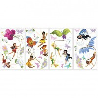 Room Mates Licensed Designs Disney Fairies Peel and Stick Wall Decal Us Only - RMK1493SCS - All Wall Art - Wall Art &amp; Coverings - Decor