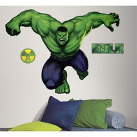 Room Mates Licensed Designs Hulk Giant Wall Decal - RMK1484GM - All Wall Art - Wall Art &amp; Coverings - Decor