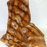 Red Fox Fur Throw Blanket:Amazon:Home &amp; Kitchen