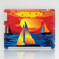 Sailing  for Peace iPad Case by Cindys
