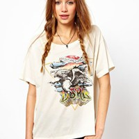Denim &amp; Supply By Ralph Lauren Eagle T-Shirt at asos.com