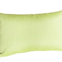 Sunbrella Apple Green Decorative Pillow Covers by PillowThrowDecor