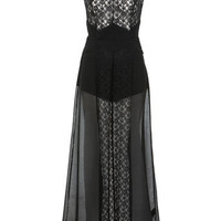 Black Lace Maxi Dress - Midi &amp; Maxi Dresses  - Dress Shop