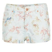 MOTO Floral Jacquard Hotpants - New In This Week  - New In