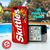 Skittles - Print on Hard Case - Fit For iPhone 4,4S, and iPhone 5