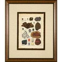 Phoenix Galleries Minerals 4 Framed Print - HP849 - All Wall Art - Wall Art &amp; Coverings - Decor