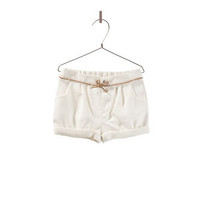bermudas with bow belt - Skirts and shorts - Baby girl - Kids - ZARA United States
