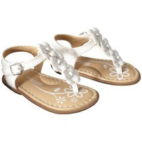 Target : Infant Girl&#x27;s Genuine Baby from OshKosh Alisha Sandal - White : Image Zoom