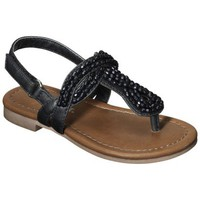 Toddler Girl&#x27;s Cherokee Jumper Sandal - Black