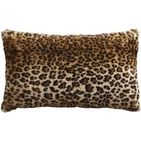 Lux Fur Leopard Pillow