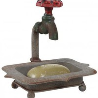 Faucet Soap Holder - Table Accents - Home Accents - Home Decor | HomeDecorators.com