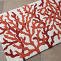 Hooked Coral Rug