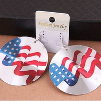 American Flag Statement Earrings | LilyFair Jewelry