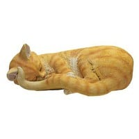 Cat Nap Sleeping Kitten Statue - QM124371                       - Design Toscano