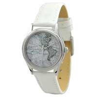 Ladies Vintage Map Watch (America)