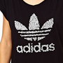 Adidas T-Shirt With Bone Print Logo at asos.com