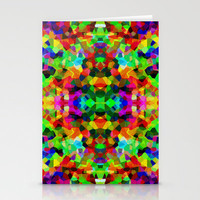 Kaleidoscope Carnival Stationery Cards by Glanoramay