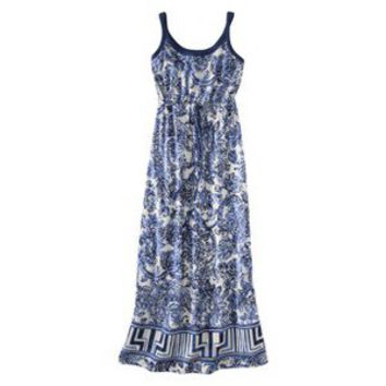 Merona® Women's Sleeveless Maxi Dress -Floral Print