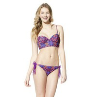 Target : Xhilaration&amp;reg; Junior&#x27;s  Printed 2-Piece Bikini Swimsuit : Image Zoom