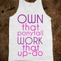 pony tail, updo - GIRLS - Skreened T-shirts, Organic Shirts, Hoodies, Kids Tees, Baby One-Pieces and Tote Bags