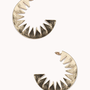 Cutout Sunburst Crescent Hoops | FOREVER 21 - 1062289781