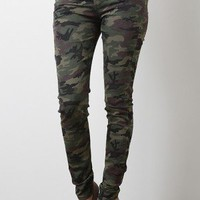 Camo Trade High Waist Pants
