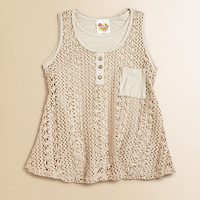 Kiddo - Girl's Mesh Tank Top